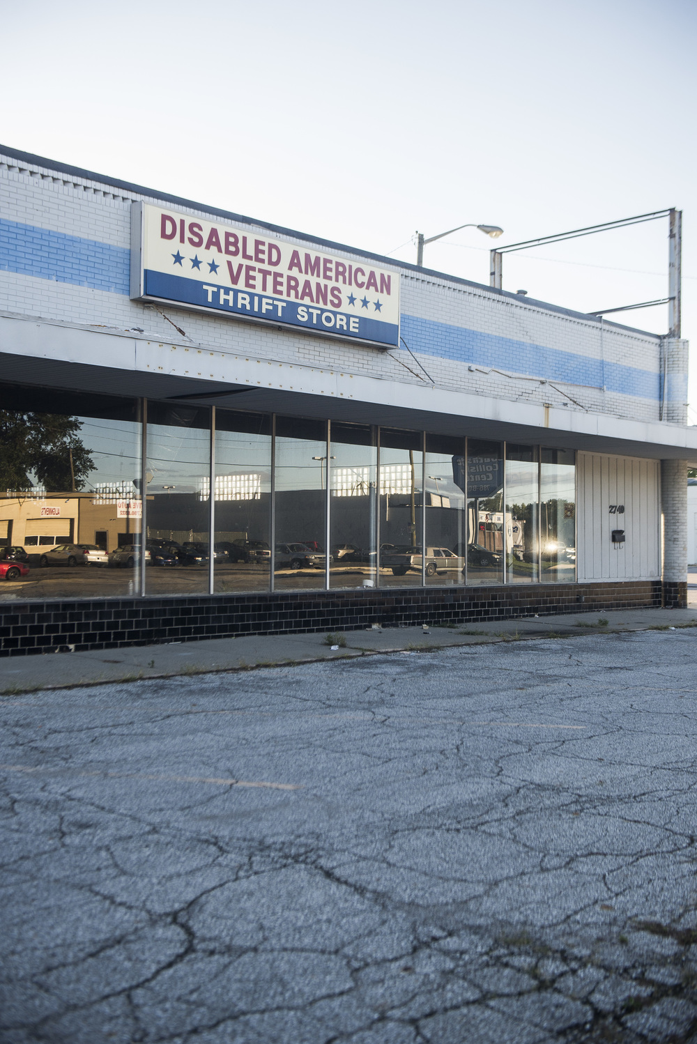 """Disabled American Veterans Thrift Store"", Indianapolis, Indiana. 2014"