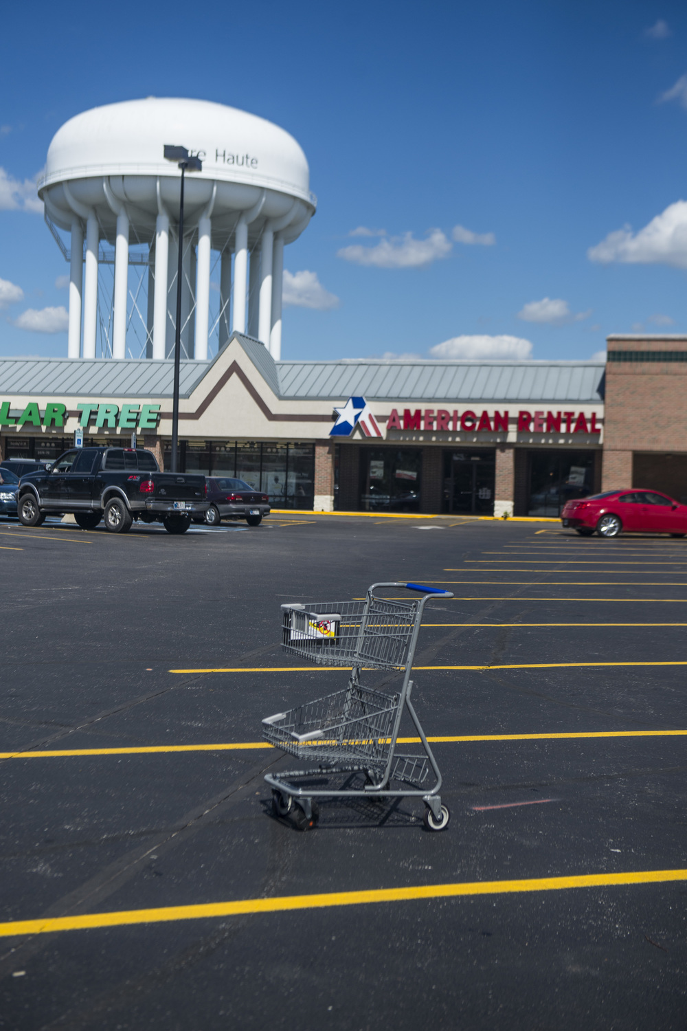 Shopping Center. Terre Haute, Indiana. 2014