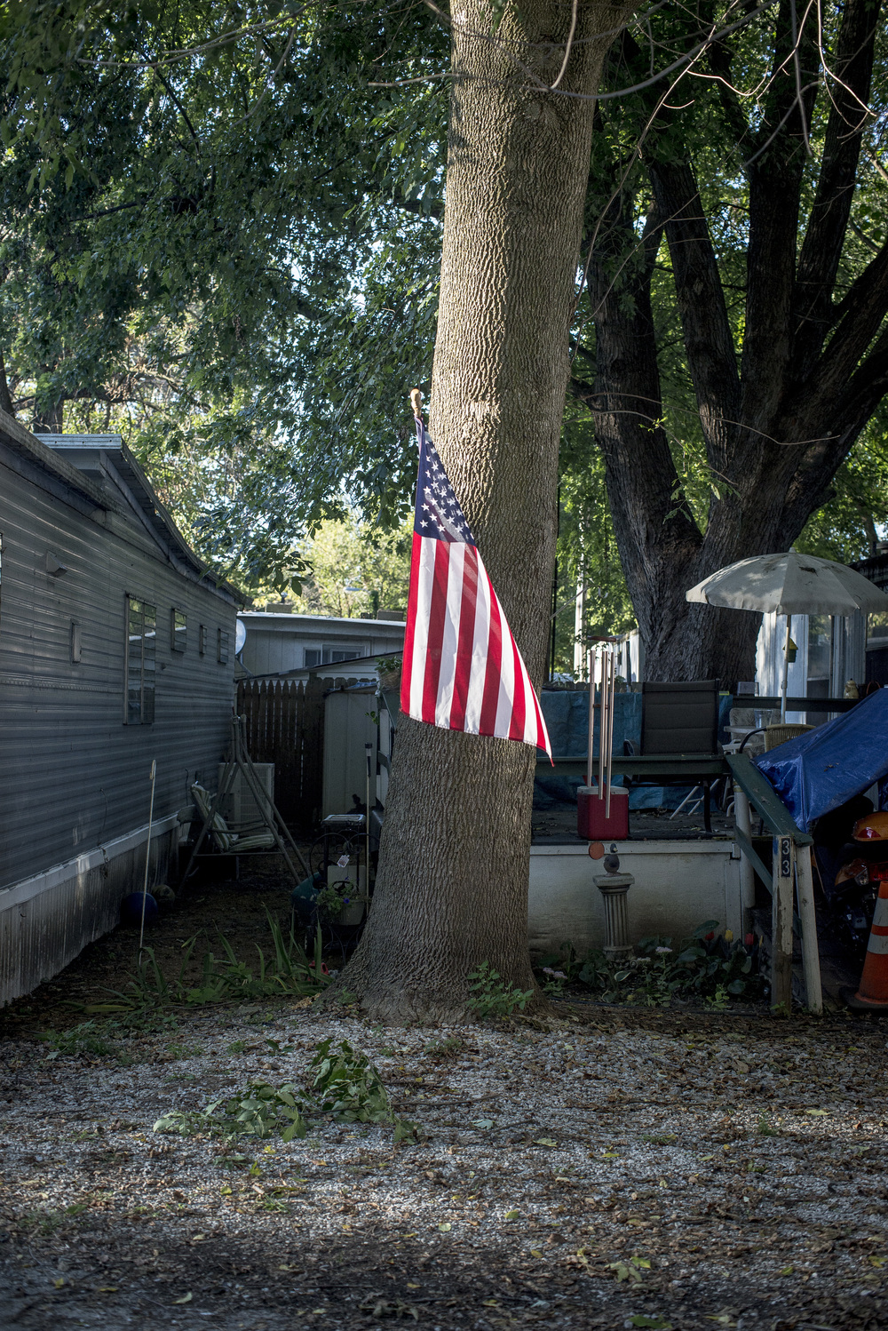 D.M. Mobile Home Park, Indianapolis, Indiana. 2014