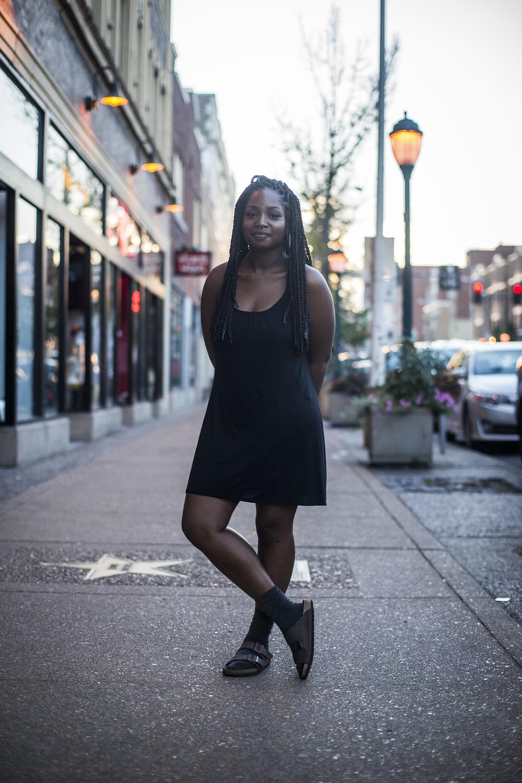 Andrea Keltz. 19. Student. St. Louis, Mo. Democrat.