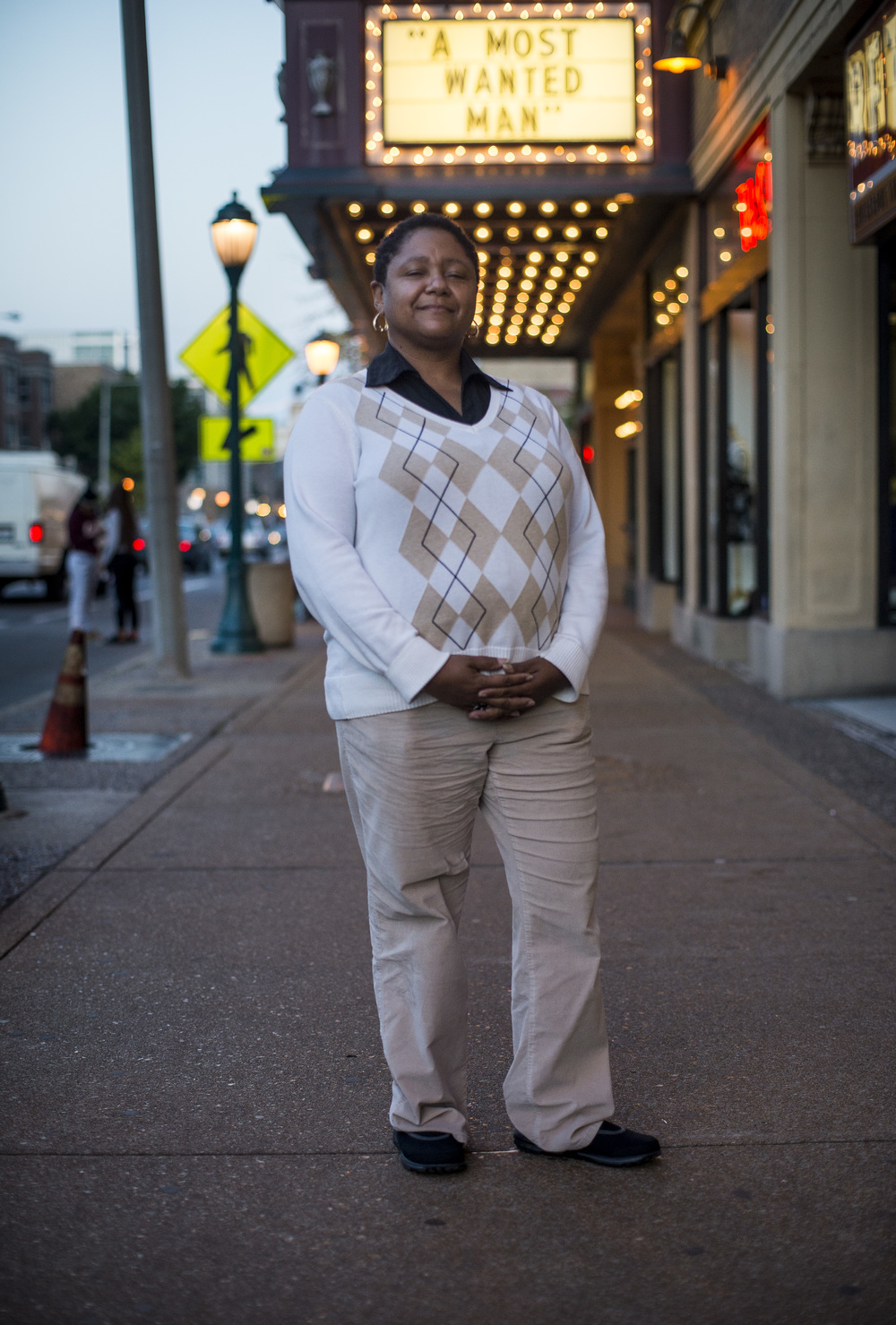 Audrey Black. 46. St Louis, Mo. High School Counselor. Democrat.