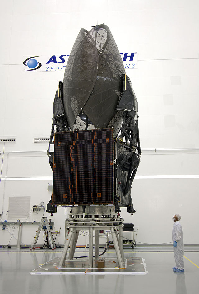 TDRS-K in the spacecraft assembly lab