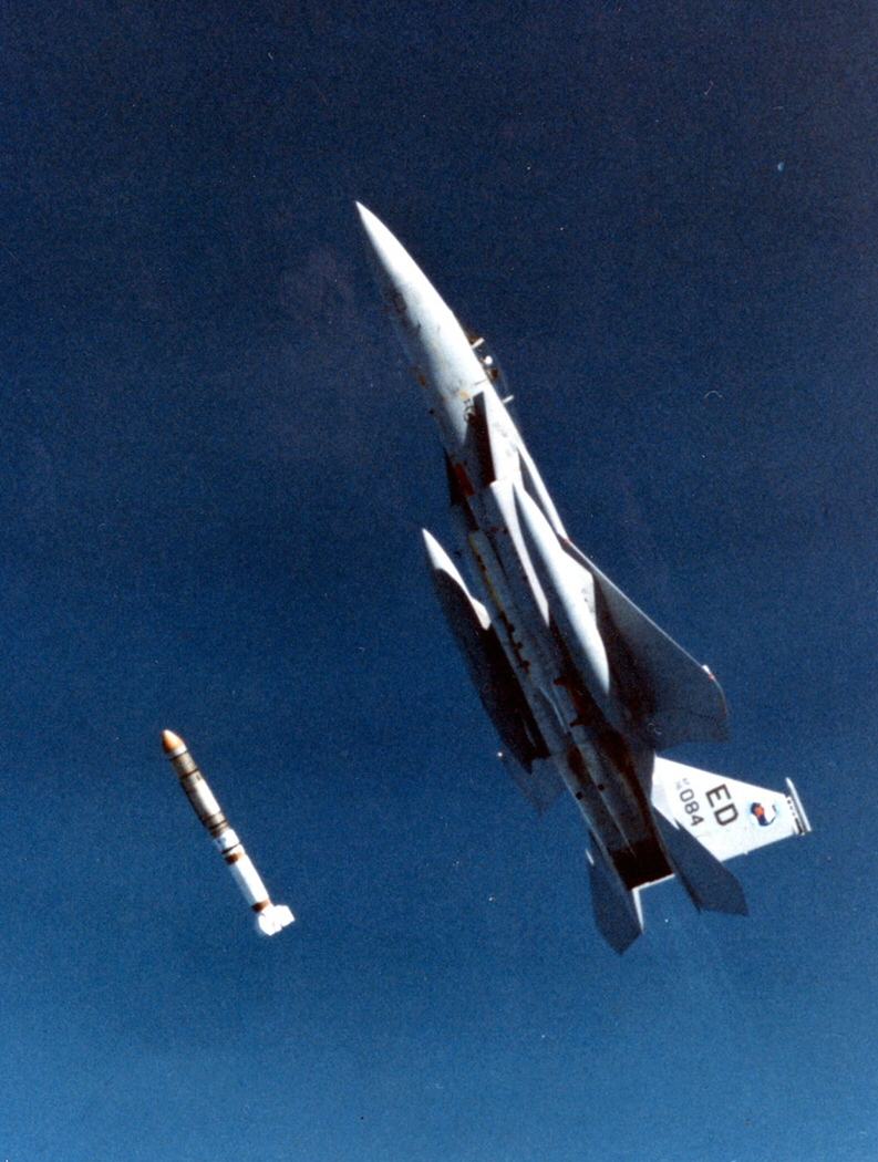 F-15 Deploys an ASAT