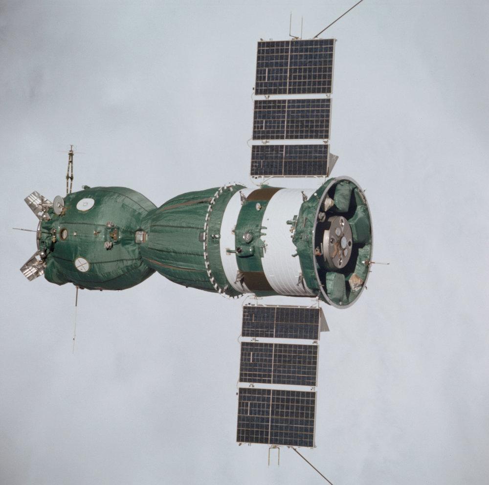 The only unmodified Soyuz 7K-TM to fly in space (spaceflight.nasa.gov)