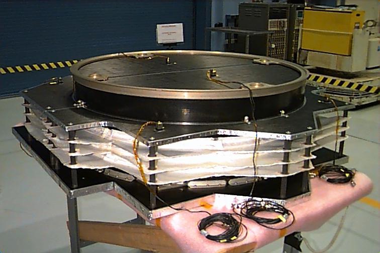 Stardust's main Whipple shield
