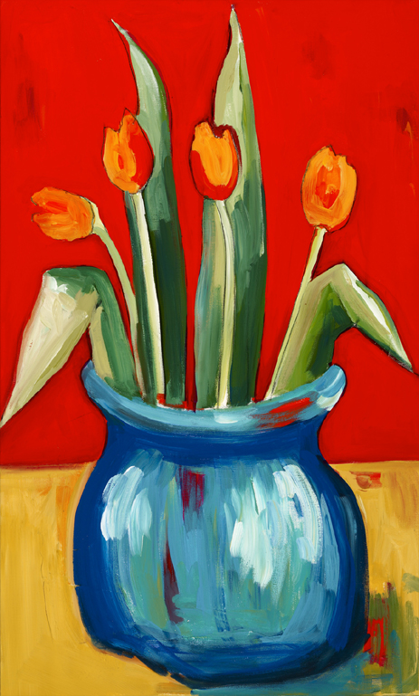 6 Still life Tulips on Red.jpg