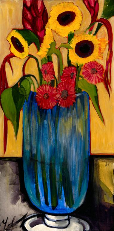17 Still life Sunflowers and Gerbers.jpg
