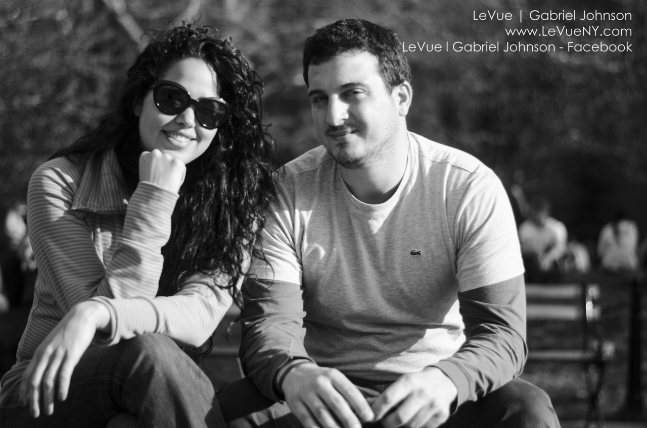 Lovely couple just enjoying the sun.     www.levuestudios.com    www.Facebook.com/levueny