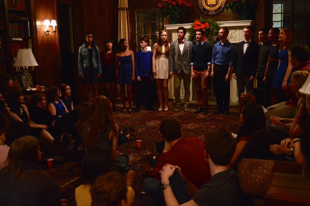The Waa-Mu Show Holiday Party 2014