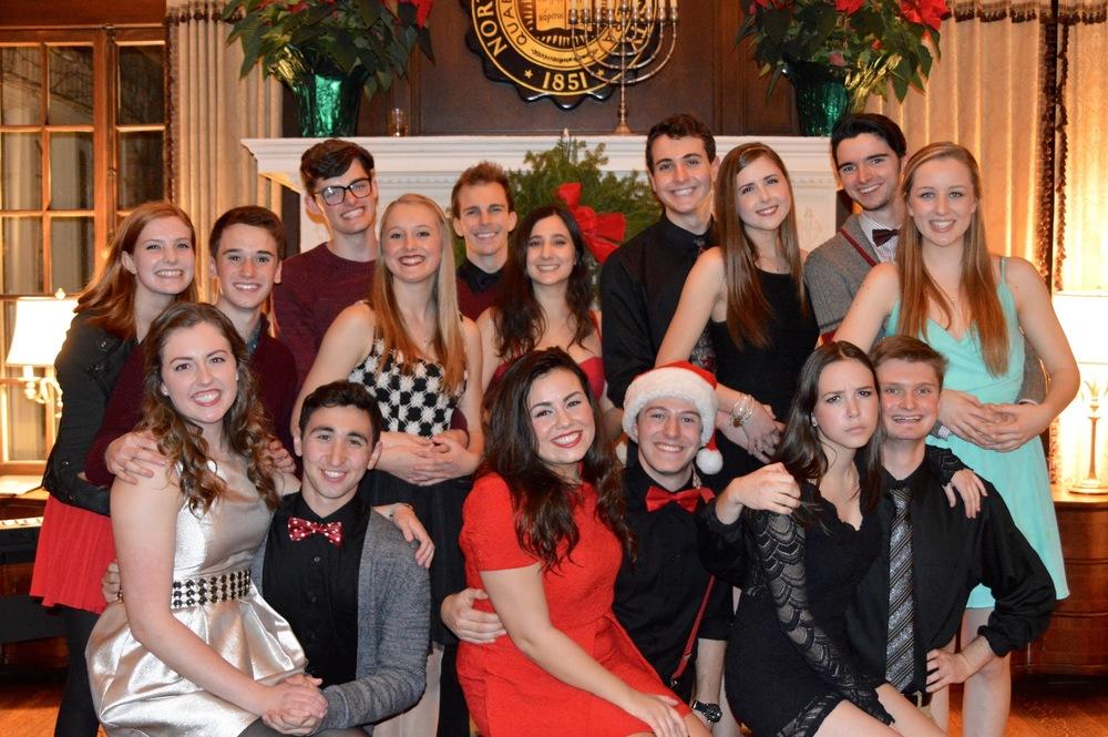 The Waa-Mu Show Holiday Party 2015