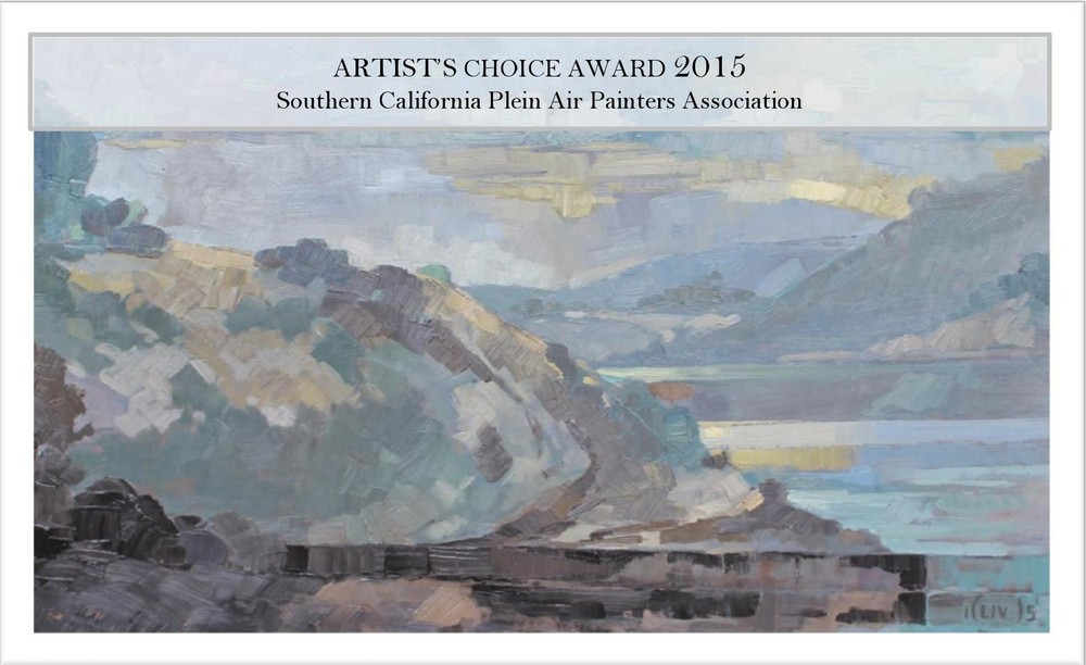 Artist's Choice Award, Southern California Plein Air Painters Association 2015 show