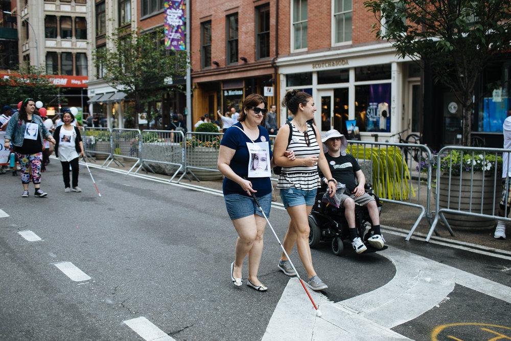 Disability Pride Parade, NYC 2018