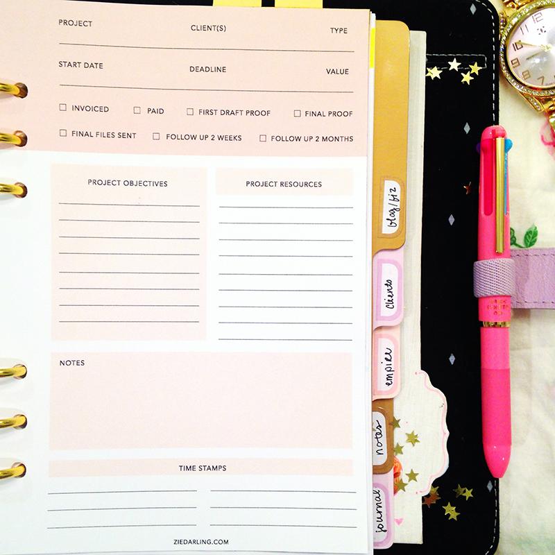 freelance client organize