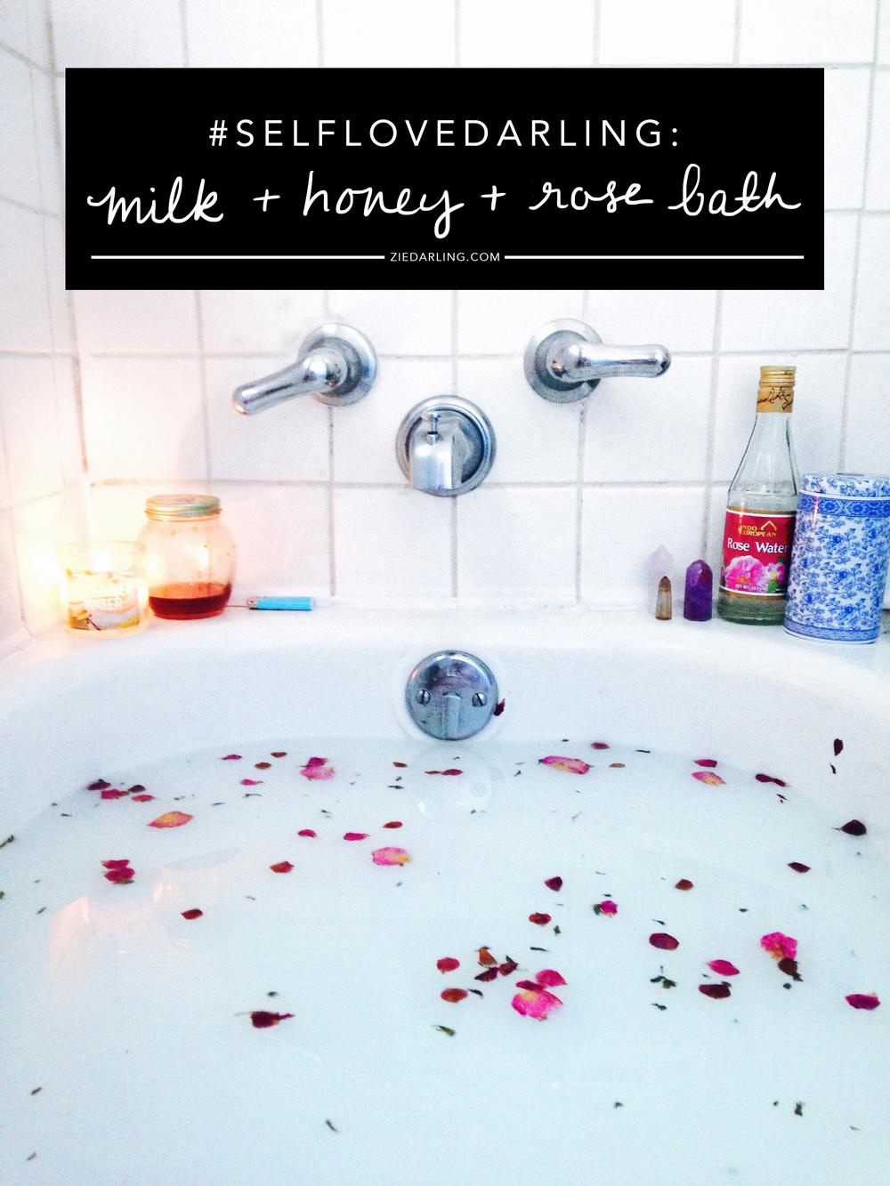 ziedarling.com   #selflovedarling bath magic