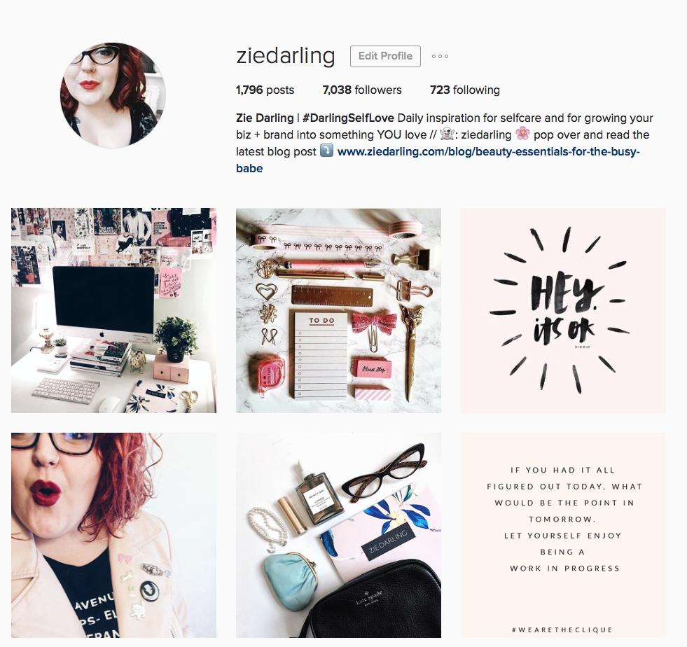 ziedarling.com | How to Make Instagram Work Smarter for Your Business