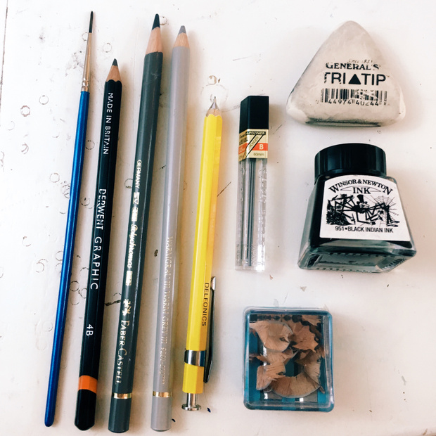 ziedarling.com || traditional art supplies