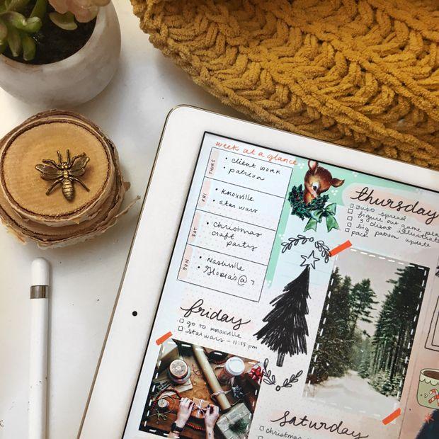 ziedarling.com || bullet and art journaling on iPad Pro