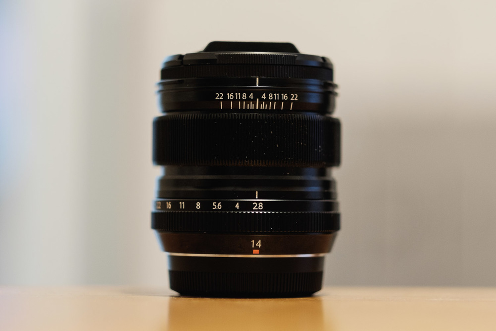 The Fujifilm XF 14mm F2.8 R Wide-Angle Lens