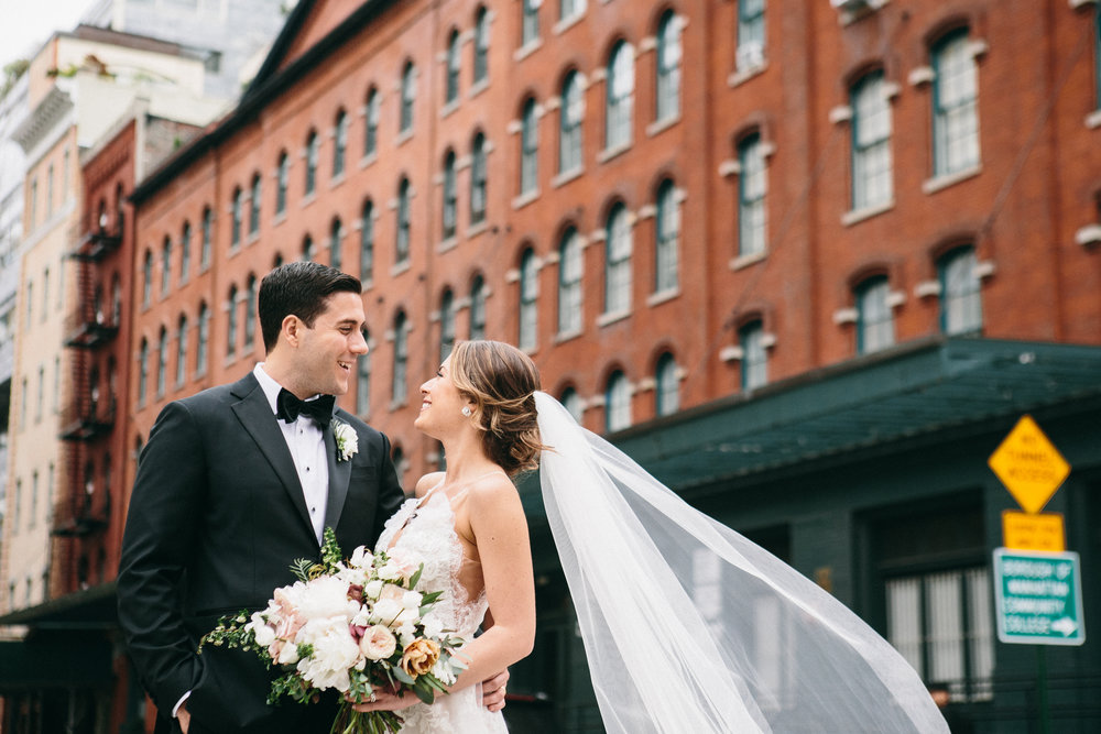 Casie + larry - TriBeCa Rooftop // NYC