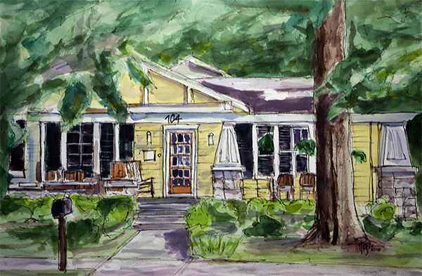 """Home Suite Home""   15 X 22 Watercolor  SOLD! Prints Available:    http://fineartamerica.com/featured/home-suite-home-tim-ross.html"
