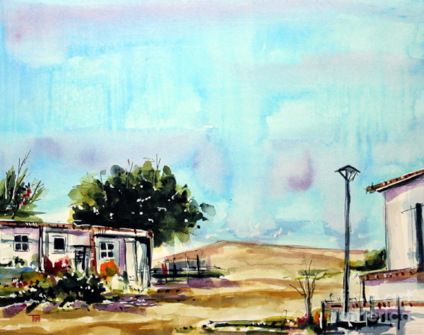 """South of Sand Hill""   10 X 13 Watercolor    SOLD! Prints Available:  http://fineartamerica.com/featured/south-of-sand-hill-tim-ross.html"
