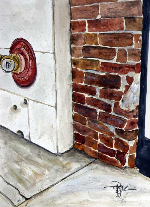 """Brake-ing News""   13 X 10  Watercolor   SOLD! Prints Available:  http://fineartamerica.com/featured/brake-ing-news-tim-ross.html"