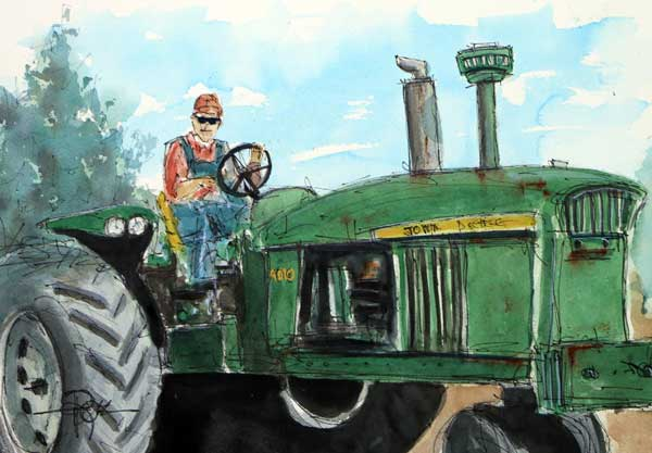 """Fearless 4010""      11 x 15 Watercolor        SOLD!        BUY PRINTS"