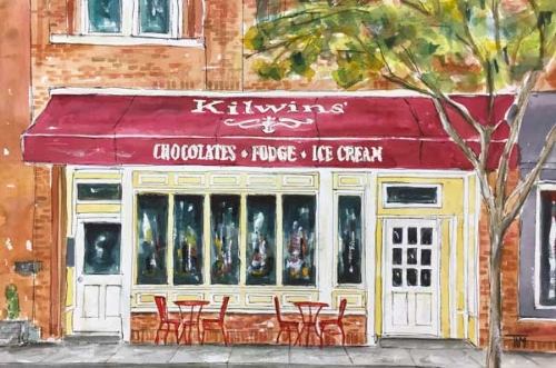 """We Scream for Ice Cream""      15 x 22 Watercolor      $299       BUY PRINTS"