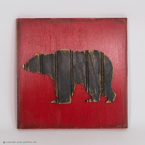 Black Bear Wall Art [starting at $13 per unit] — Grace Graffiti