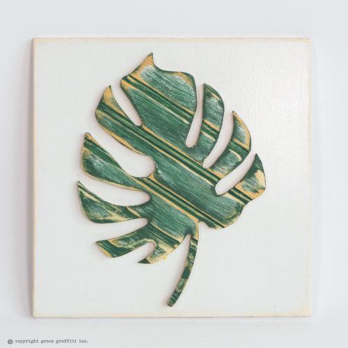 Palm Leaf Wall Art, Cabana Collection — Grace Graffiti