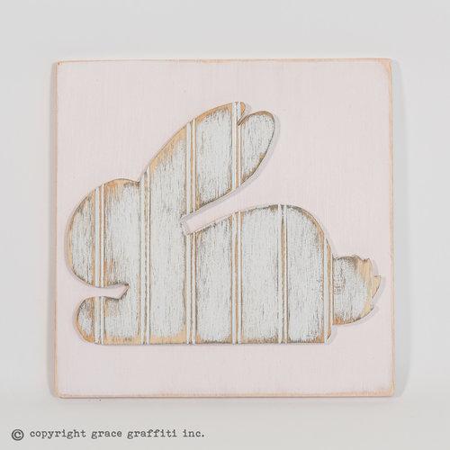 Bunny Wall Art, Children\'s Collection — Grace Graffiti