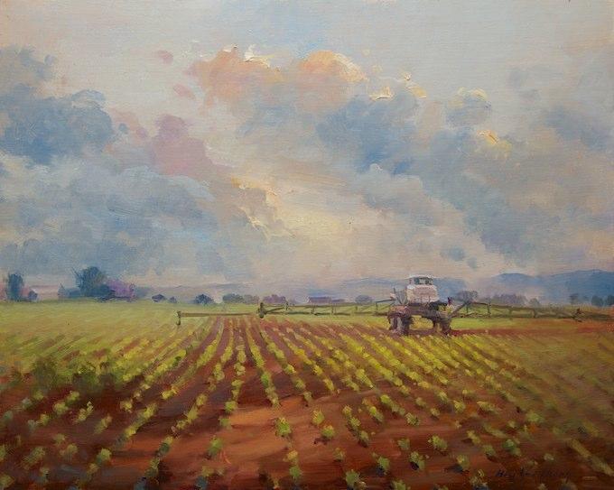 HiuLaiChong Tending the Fields 16x20 Oil.jpg