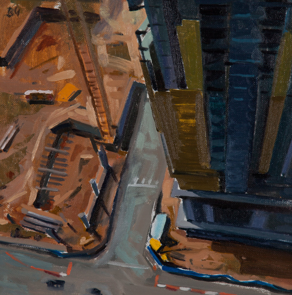 Plein Air Magazine Award-Best Composition   'Atlanta Rising' by Bryan Guglielmi