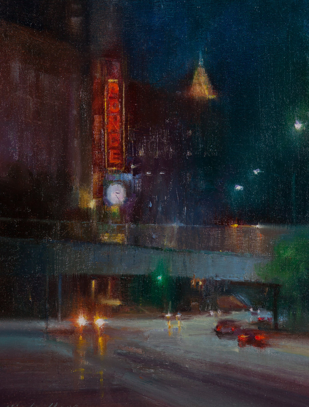 JFM Frames-Best Sense of Mystery Award   'Rainy Night at Ponce' by Hiu Lai Chong