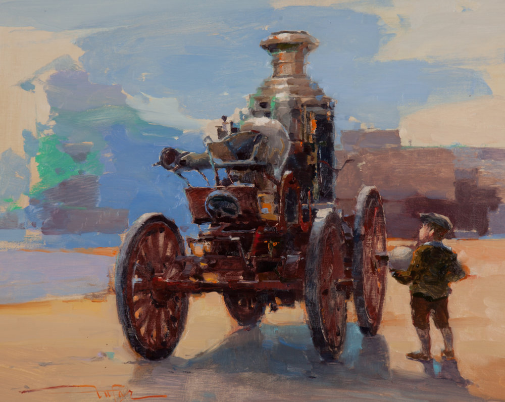 2017 Atlanta History Center Insiders' Award 'Future Fireman' by Zufar Bikbov