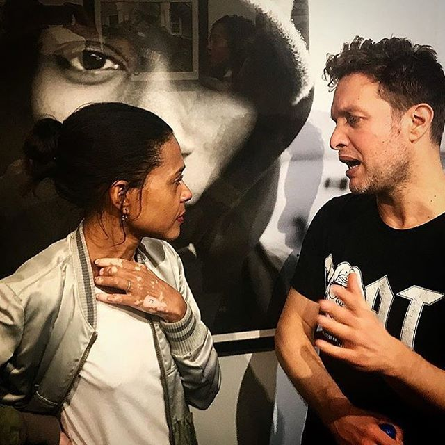 Yes ....interesting.  Thank you @tvalfree  @hommepourfemme @themikeschreiber @yardgyal #hommepourfemme @plus81gallery #hommepourfemme #truehiphop #rebeccarebecca #plus81gallery #blackandwhitephotography