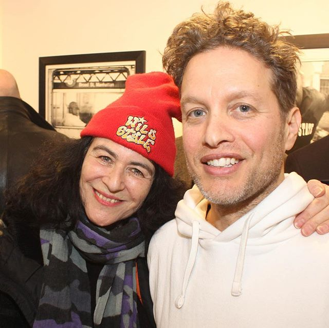 And then this happened Janette Beckman Please come to see True Hip Hop @plus81gallery  Wed -Sunday 1-7pm till April 15th @themikeschreiber . Soundtrack True Hip Hop on Spotify curated by Belinda Becker @yardgyal #hommepourfemme #truehiphop #curator #blackandwhitephotography