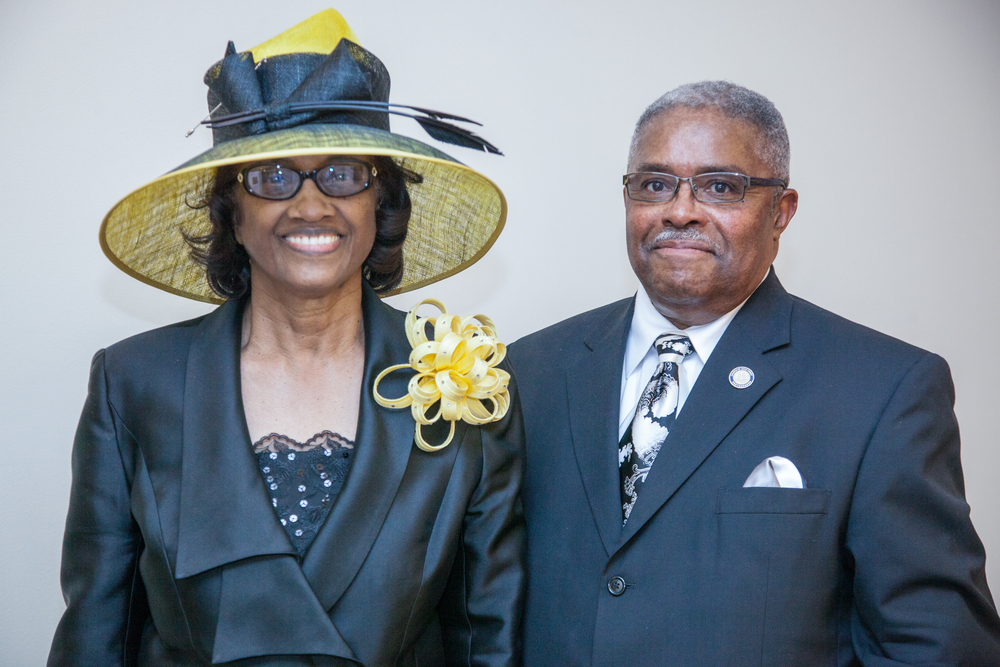 Bishop and Lady John T. Leslie, Pastor of Church of Jesus Christ, Washington, D.C
