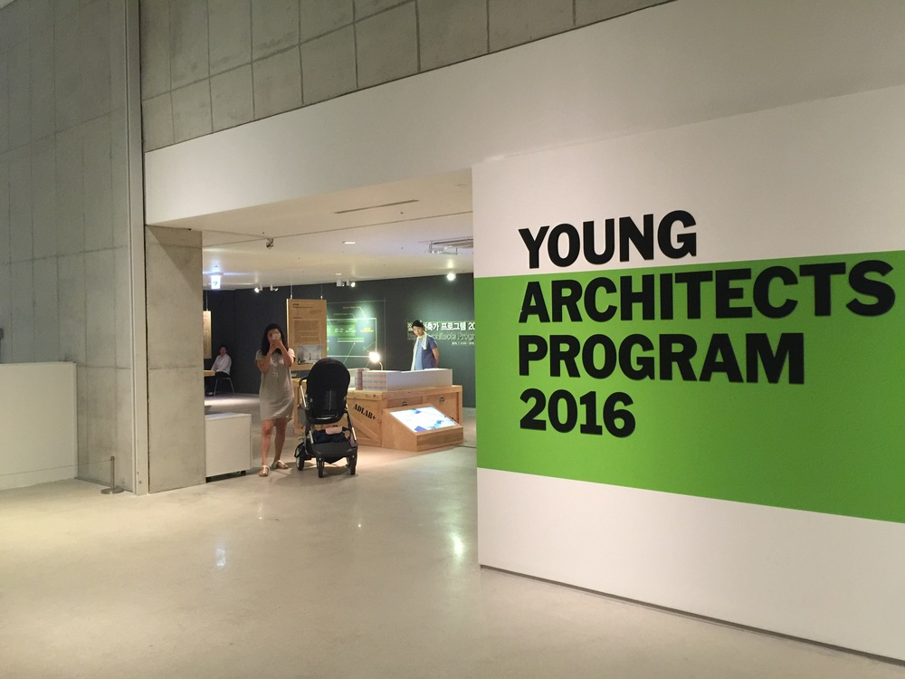 It was an honor to see the projects by other young architects in Korea.