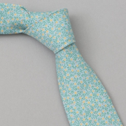 the hill side micro calico classic tie