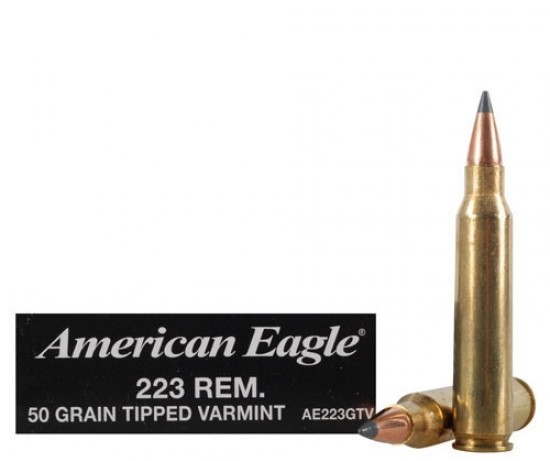 50 Grain .223 Rem                                                                                                                                            $199.95 for 500rd Case