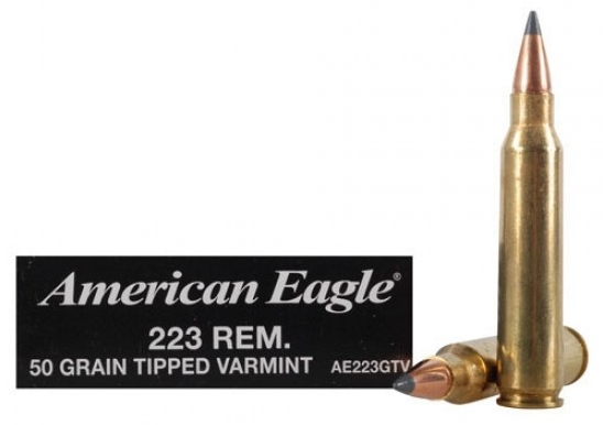 .223 50 Grain Tipped Varmint