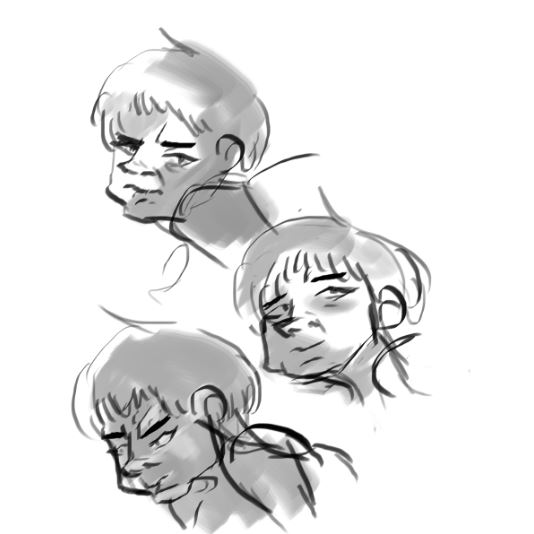 Expression and face consistency practice