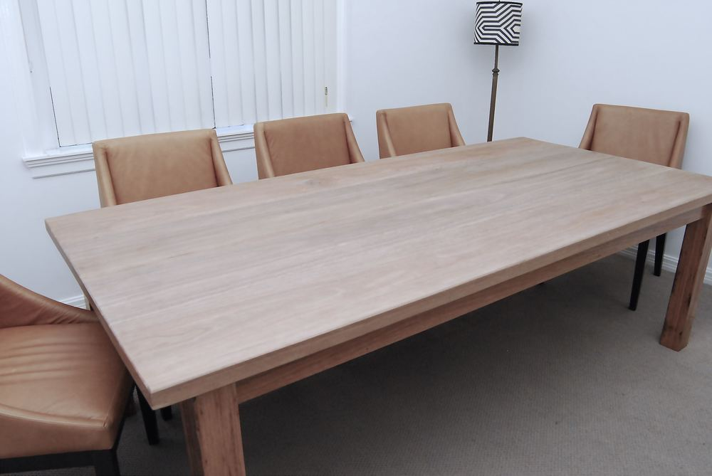 This beautiful spotted gum 8 / 10 seater is currently for sale