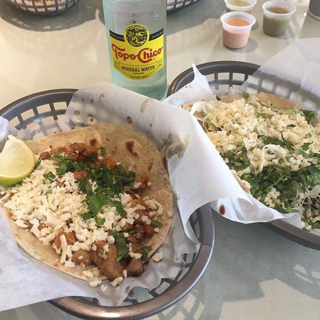 Texas. Tacos. Topo Chico. #boom