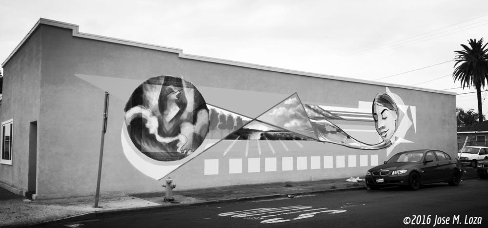 Mural Design Digital Photo-composite- copyright 2016 JoseMLoza