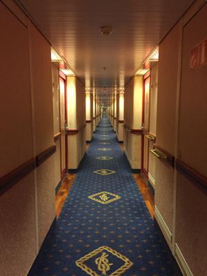 A bit creepy these halls...