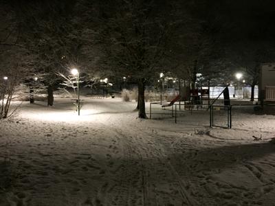 Playground at 4:30pm
