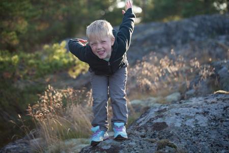 Rockhopping on Stenskär