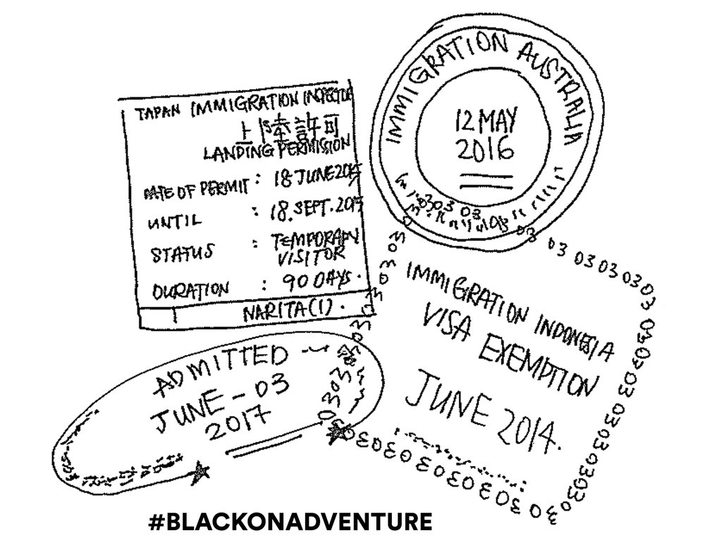 BLACK on Adventure
